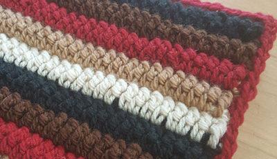 アーチ編み