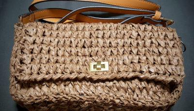 ペーパーヤーンのバッグ