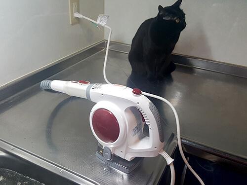 キッチン高圧洗浄機