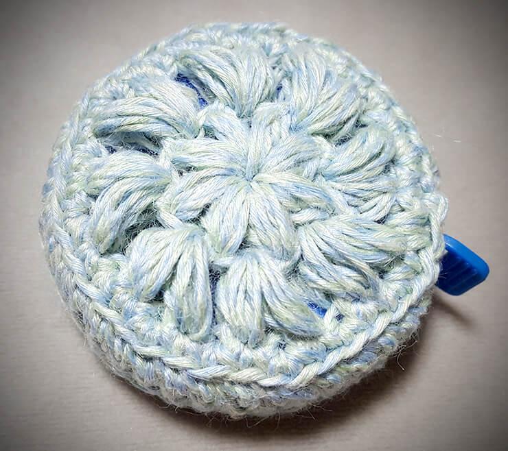 100均毛糸で小物