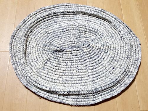 綿ロープは洗っちゃダメ