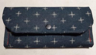 ハンドメイドの長財布